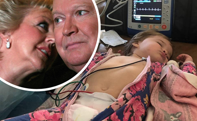 Patti Newton shares heartbreaking photo update as her granddaughter is caught in a shocking hospital scare