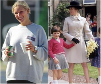 Princess Anne is the spitting image of her daughter Zara in unearthed pictures shared by the Palace