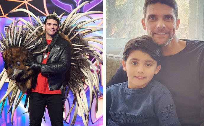 "EXCLUSIVE: ""I've got the coolest dad in the world!"" Mark Philippoussis reveals his son's delight at watching him on The Masked Singer"