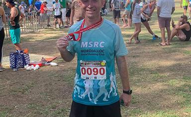 REAL LIFE: Meet the Aussie dad who ran a 42km marathon in his backyard, all for his daughter