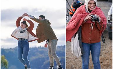 """""""It felt like our own little movie"""": Home and Away stars head to the Blue Mountains to film emotional scenes"""