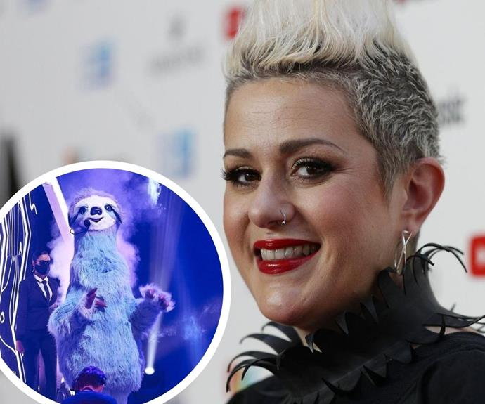 EXCLUSIVE: The Masked Singer's sloth Katie Noonan reveals the elaborate lengths she had to go to keep her identity secret