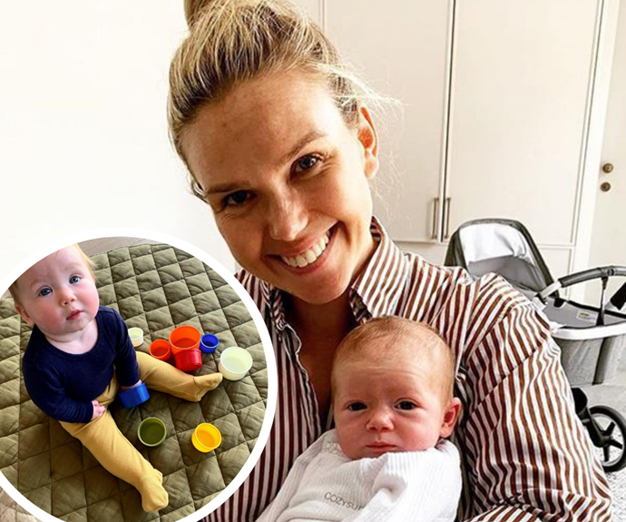 Edwina Bartholomew and daughter Molly look identical as the Sunrise star shares side-by-side baby photos