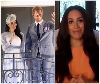 Duchess Meghan is giving fans a surprise glimpse of her new living room - and yes, it'll outdo Selling Sunset so strap in