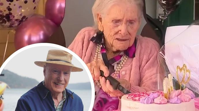Ray Meagher surprises Home And Away's oldest fan in footage that will make you happy cry
