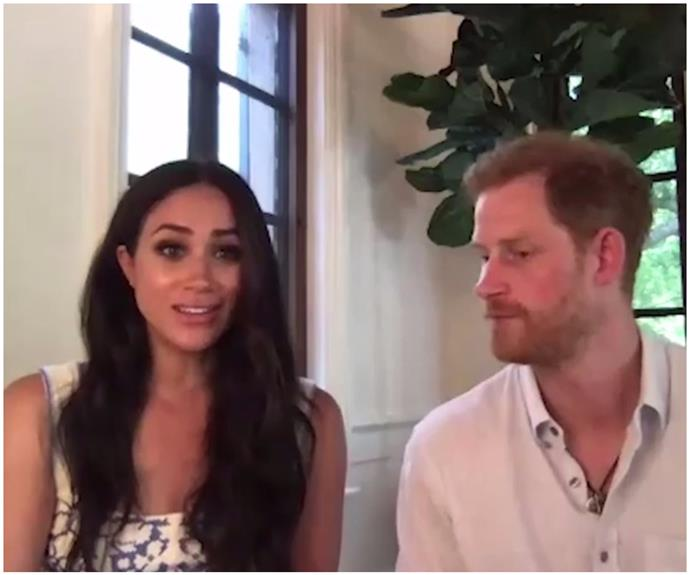 Prince Harry and Duchess Meghan provide an extremely rare insight into their lush new mansion in TWO new videos