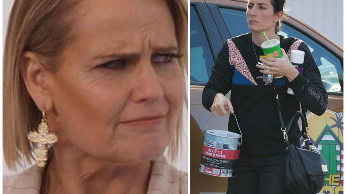 The Block's Shaynna Blaze and contestant Jasmin are already at war as the show goes to air