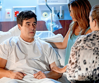 Home And Away shock collapse! Justin's life hangs in the balance - and the diagnosis is more than troubling