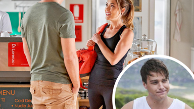 Flirting with danger! Home And Away's Colby will do whatever it takes to find Bella