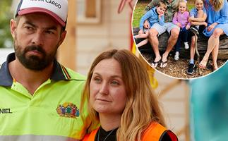 EXCLUSIVE: The Block's Jade and Daniel reveal how their baby daughter almost died