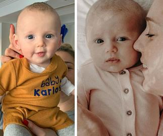 """""""You are perfection"""": The cutest photos of Karl Stefanovic and Jasmine Yarbrough's daughter Harper"""