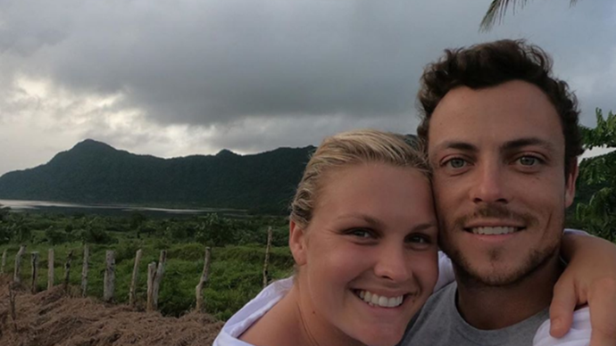That's what girlfriends are for! Sophie Dillman's hilarious birthday tribute to Home And Away co-star Patrick O'Connor shows him in a whole new light