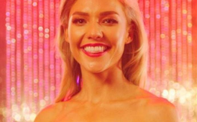 Sam Frost's tearful body image confession on the All New Monty