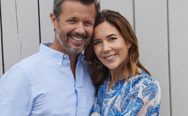 Crown Prince Frederick and Crown Princess Mary are the picture of romance in rare new family photos from their summer holiday