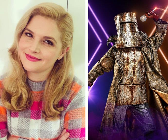EXCLUSIVE: Lucy Durack thinks she knows exactly who the Bushranger is on The Masked Singer