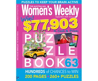 The Australian Women's Weekly Puzzle Book Issue 63