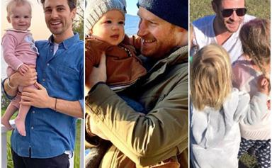 We round up the best ways your favourite celebs have summed up being a dad