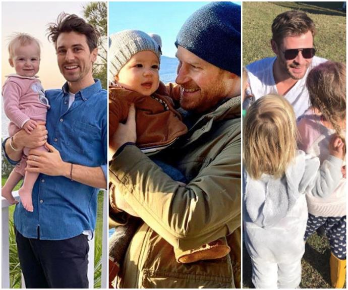 Prepare your ovaries: We round up the best ways your favourite celebs have summed up being a dad
