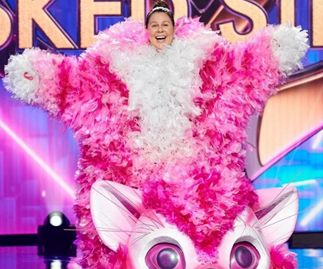 """EXCLUSIVE: The Masked Singer's Kitten Julia Morris reveals she's been secretly """"gaslighting"""" Osher and the judges"""