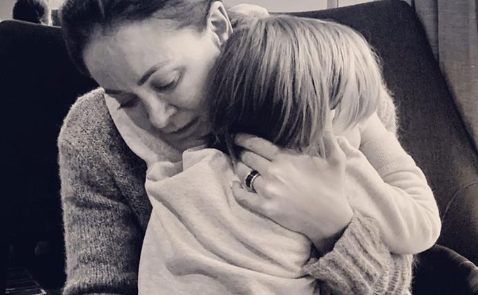 Michelle Bridges makes a searingly honest confession about being a single parent