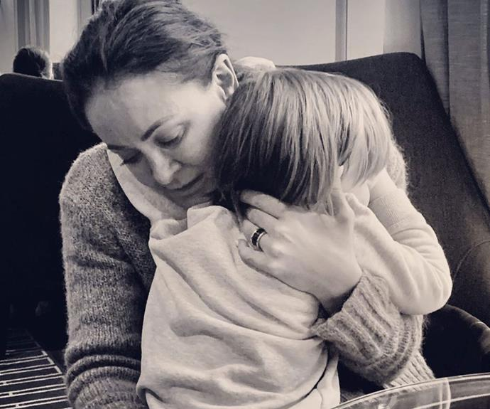 Michelle Bridges makes a searingly honest confession about being a single parent