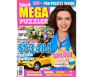 Take 5 Mega Puzzler Issue 56 Online Entry Coupon