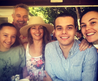 """EXCLUSIVE: """"We did it for the kids!"""" Cameron Daddo on his and wife Alison Brahe's life-changing decision"""