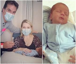 Lauren Newton shares uplifting news as she finally brings her newborn Alby home - after months-long hospital stint
