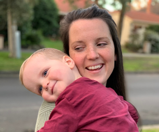"""REAL LIFE: """"I refused to let MS stop me from being a mum"""": How one woman defied the odds to start a family on her own"""