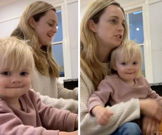 Home And Away's Penny McNamee's adorable duet with her daughter Neve proves talent runs in the family