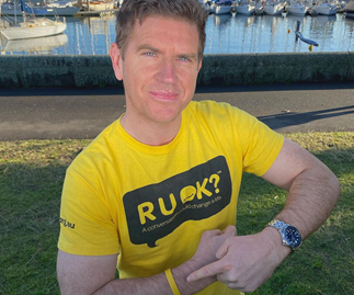 R U OK? Celebrities are sharing poignant and powerful messages for suicide prevention today