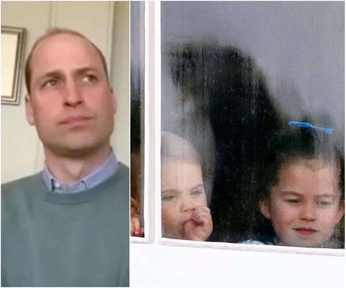 Prince William just let slip a parenting confession that's all-too-relatable in these strange, COVID times
