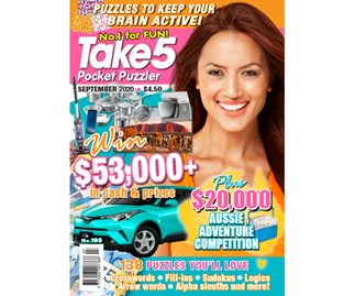 Take 5 Pocket Puzzler Issue 193 Online Entry Coupon