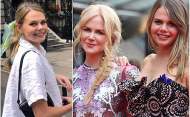 Nicole Kidman's lookalike niece Lucia Hawley is eyeing up a role in one of her famous Aunt's productions
