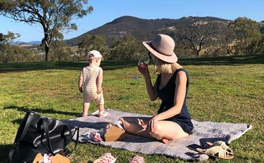 Good wine hunting with a toddler in tow? Yes, it's possible!