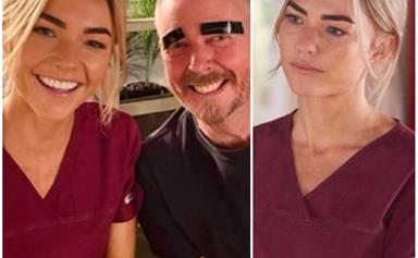 """""""You all have permission to have a lol about it"""": Sam Frost shares a hilarious beauty fail that awkwardly occurred in the midst of Home & Away filming"""