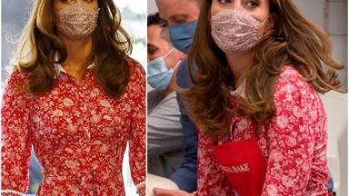 Duchess Catherine wears her favourite dress from lockdown... in real life