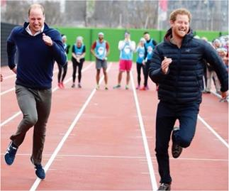 Prince Harry's 36th birthday is marked with a cheeky message from Wills & Kate