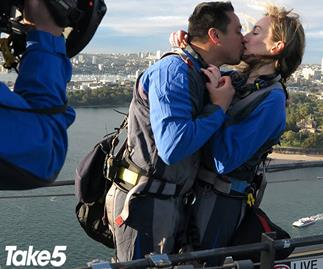 REAL LIFE: How one man pulled off the ultimate proposal at one of Sydney's most iconic landmarks