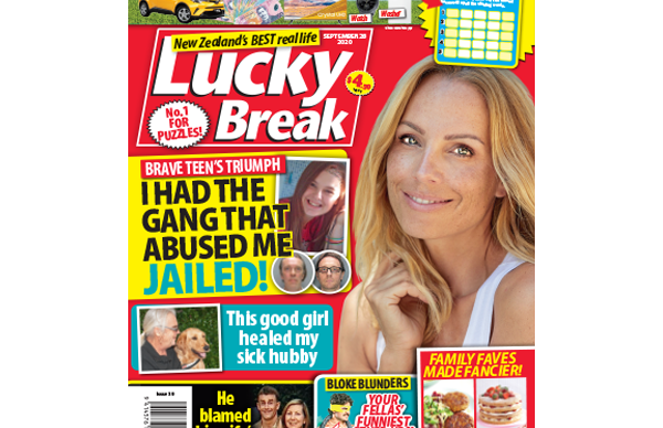 Lucky Break Issue 39 Entry Coupon
