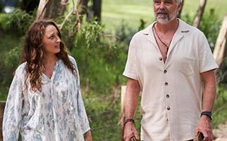 Cameron Daddo and Georgie Parker just dropped a massive hint Roo and Owen will fall in love on Home and Away
