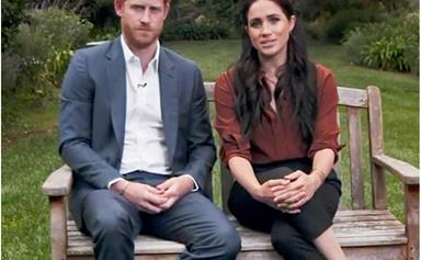Prince Harry and Duchess Meghan make a stirring political statement in a rare clip for TIME's historic broadcast