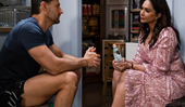 Sharon Johal reveals the brilliantly sneaky way Neighbours filmed intimate scenes amid COVID, and it involves a lot of kissing practice