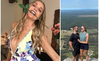 The Bachelor's Izzy Sharman-Firth debuts her new boyfriend - and she looks absolutely smitten