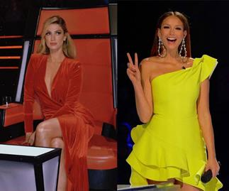Is Ricki-Lee Coulter about to push Delta Goodrem from her coveted Voice slot?