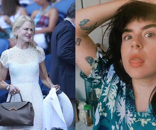 Bella Cruise has subtly been sending messages of support to her mum Nicole Kidman on a very public forum