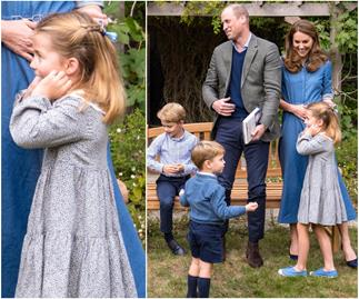Princess Charlotte had the sweetest reaction to meeting Sir David Attenborough in NEW royal pic
