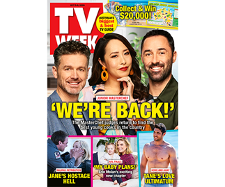 Enter TV WEEK Issue 40 Puzzles Online