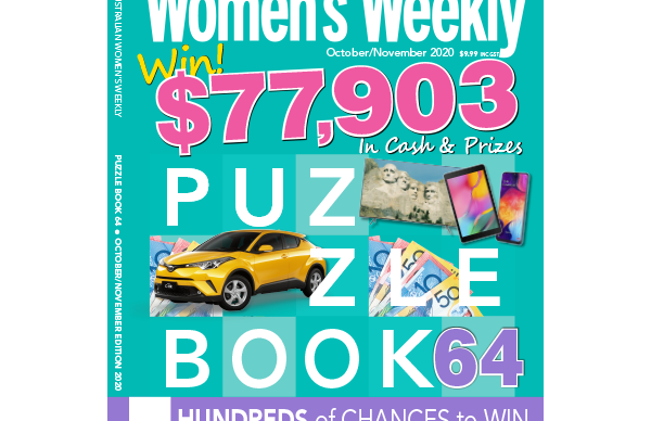 The Australian Women's Weekly Puzzle Book Issue 64