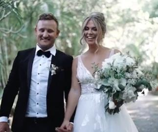 Sealed with a cheeseburger! Inside former Bachelor star Tara Pavlovic's wedding to Nick Shepherdson
